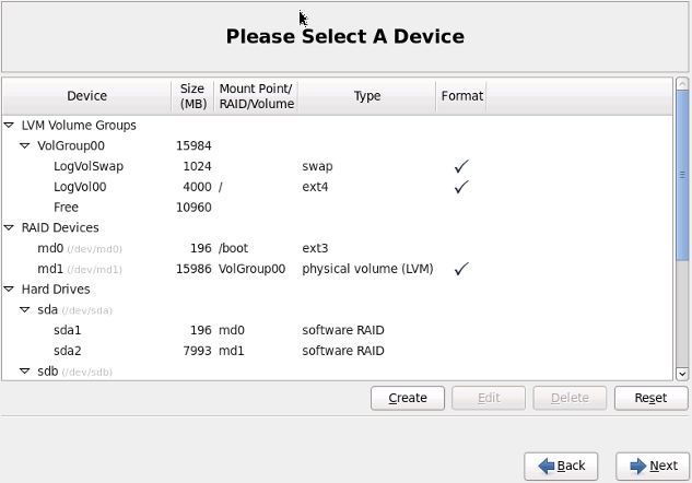 how to create partition in redhat linux 6